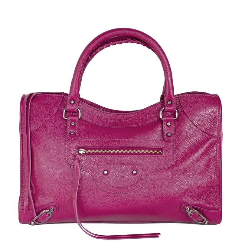 Bolsa Babi Couro Pink Balenciaga inspired 2728