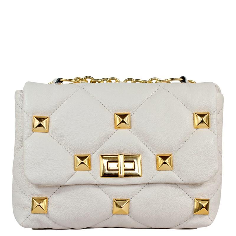 Bolsa Chloe Couro Off White 2732