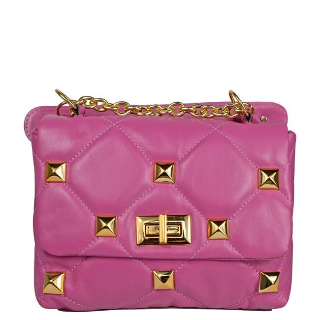 Bolsa Chloe Couro Pink 2732