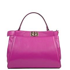 Bolsa Lais em Couro Pink 2675