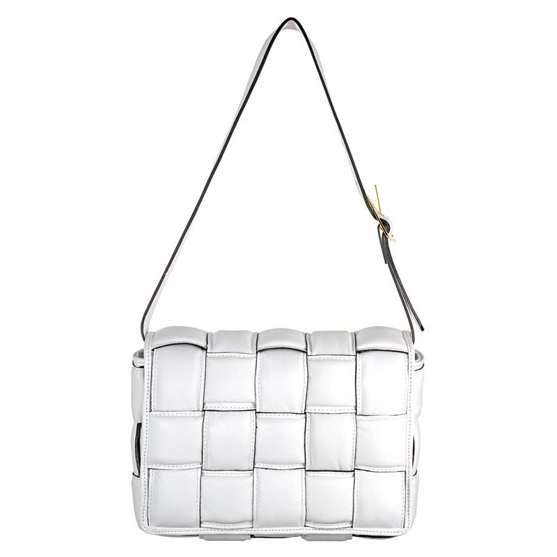 Bolsa Lindy em Couro Branco 2479