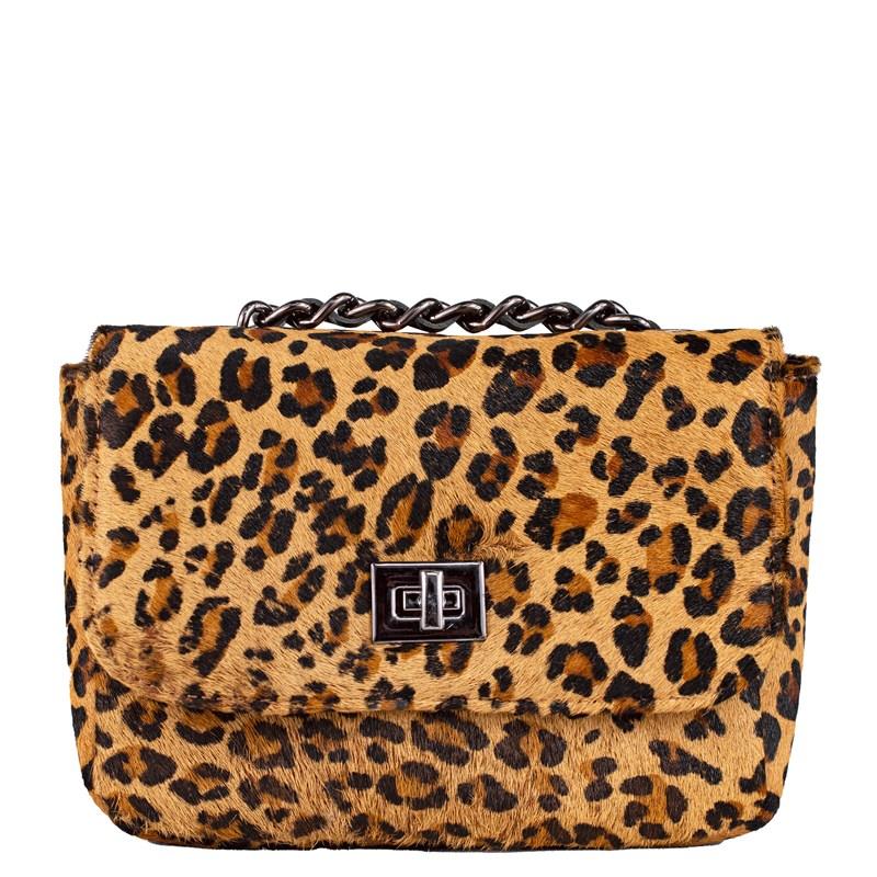 Bolsa Pequena em Animal Print Leopardo 2595