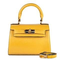 Bolsa Stella em Couro Amarelo 2658