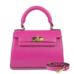 Bolsa Stella em Couro Pink 2658