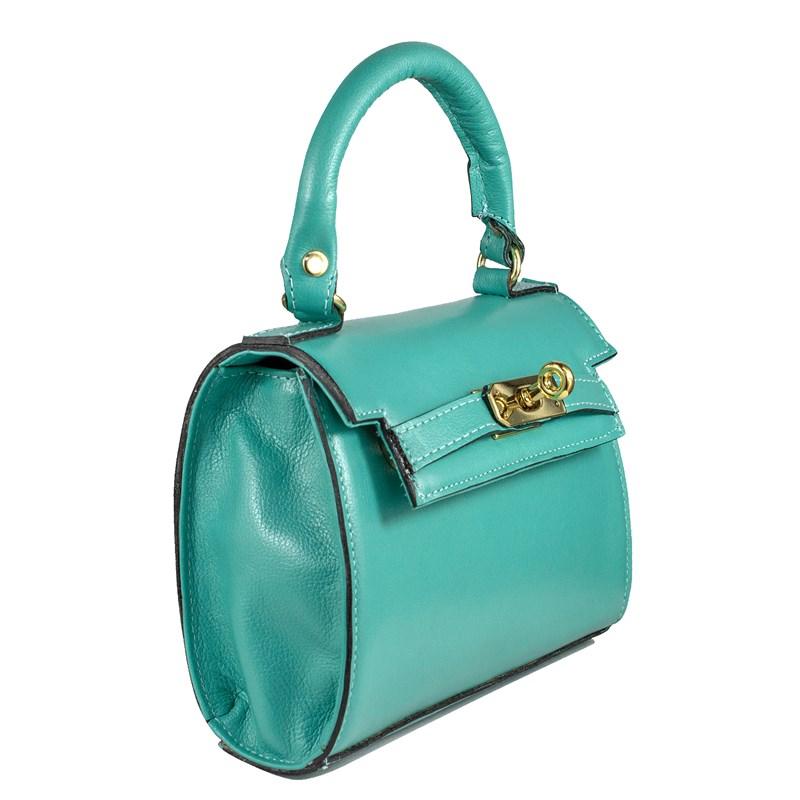 Bolsa Stella em Couro Verde 2658