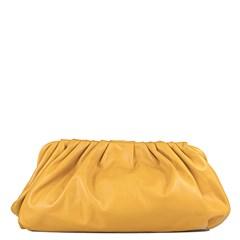 Bolsa The Pouch Amarelo Couro 2638
