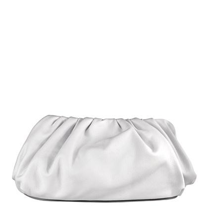 Bolsa The Pouch Branco Couro 2638