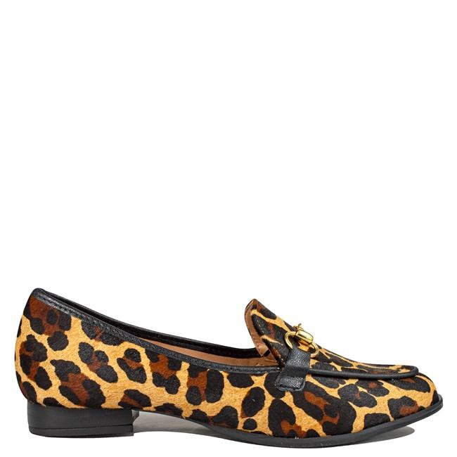 Mocassim Animal Print Leopardo 533