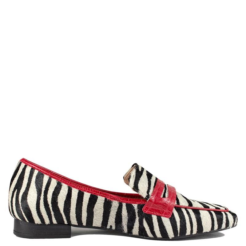 Mocassim Animal Print Zebra 103