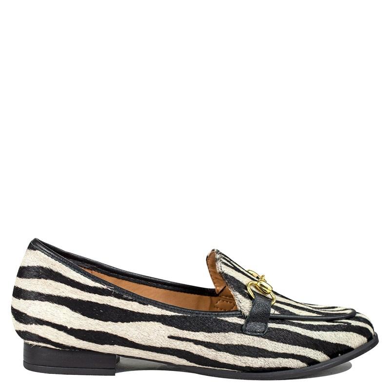 Mocassim Animal Print Zebra 533