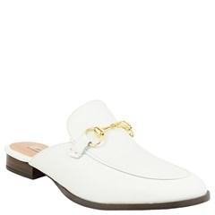 Mule Gucci Inspired Couro Branco 531 - Recomendamos a compra de um número acima do normalmente usado