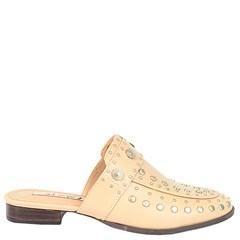 Mule Gucci Inspired em Couro Nude com Tachas 600 - Recomendamos a compra de um número acima do normalmente usado