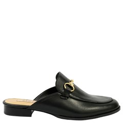 Mule Gucci Inspired em Couro Preto 531 - Recomendamos a compra de um número  acima do ... e474f232b53