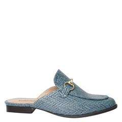 Mule Gucci Inspired em Palha Jeans 531 - Recomendamos a compra de um número acima do normalmente usado