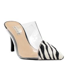 Mule Lindsay Vinil Zebra 7587