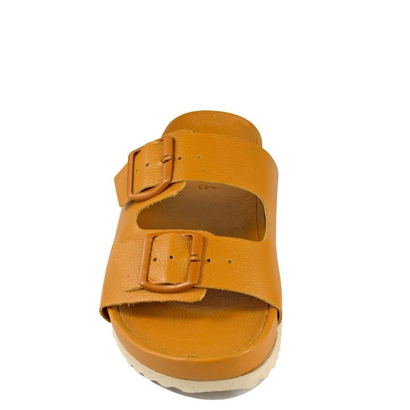 Papete Luana Couro Amarelo BK104