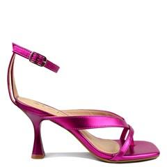 Sandália Carly Salto Taça Pink 9055