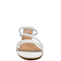 Sandália Donna Branco Curo Python 7024