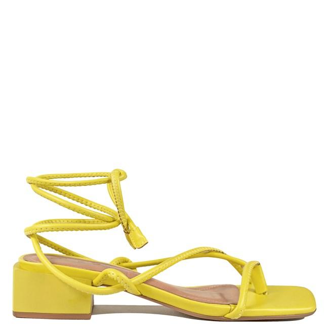 Sandália Helena Amarelo 0-202