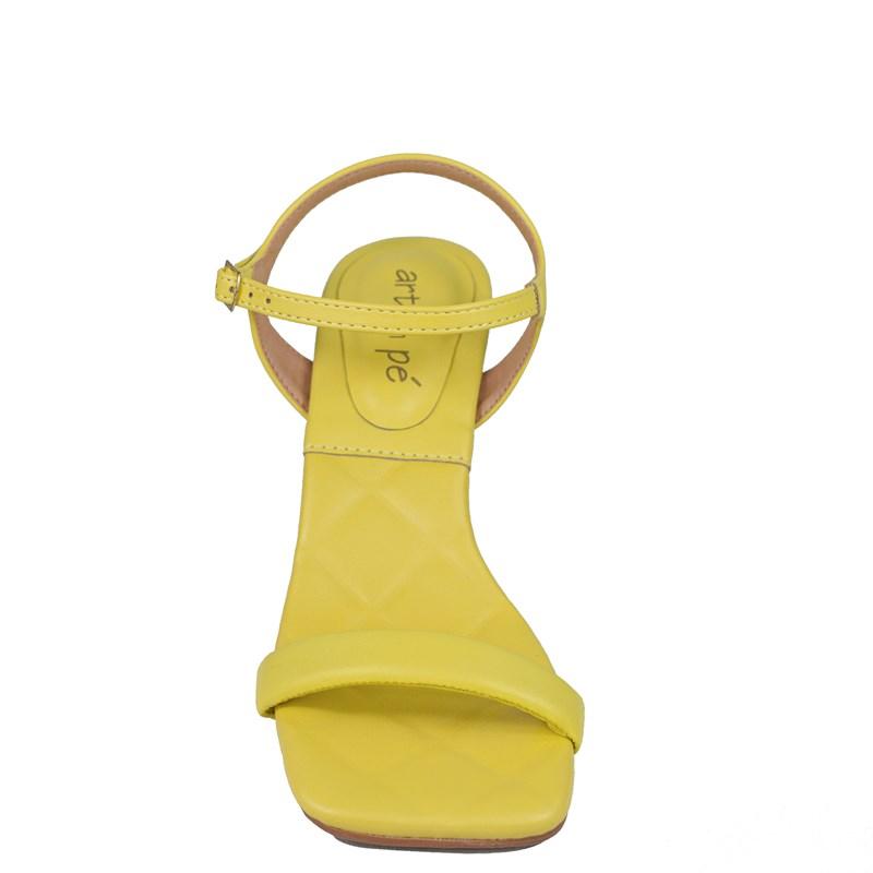 Sandália Karen Amarelo Salto Taça 1091