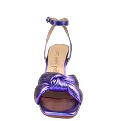 Sandália Perla Salto Taça Azul/Roxo 4003