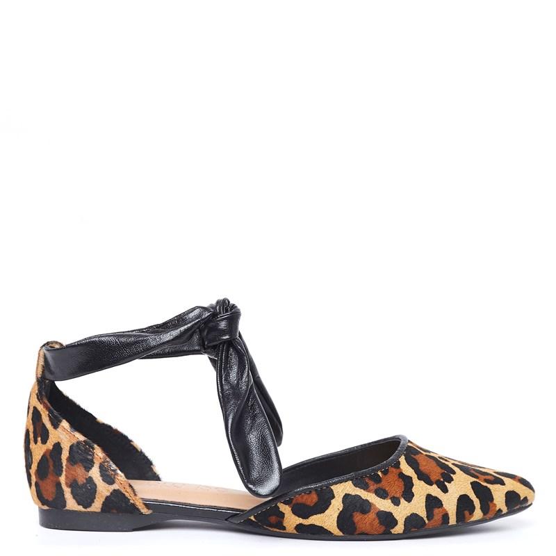 Sapatilha Lindy Animal Print Leopardo 0-437
