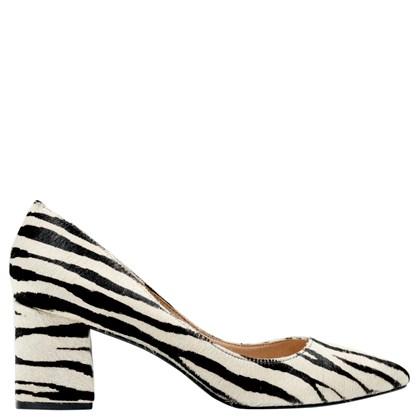 Scarpin Audrey Zebra 1501