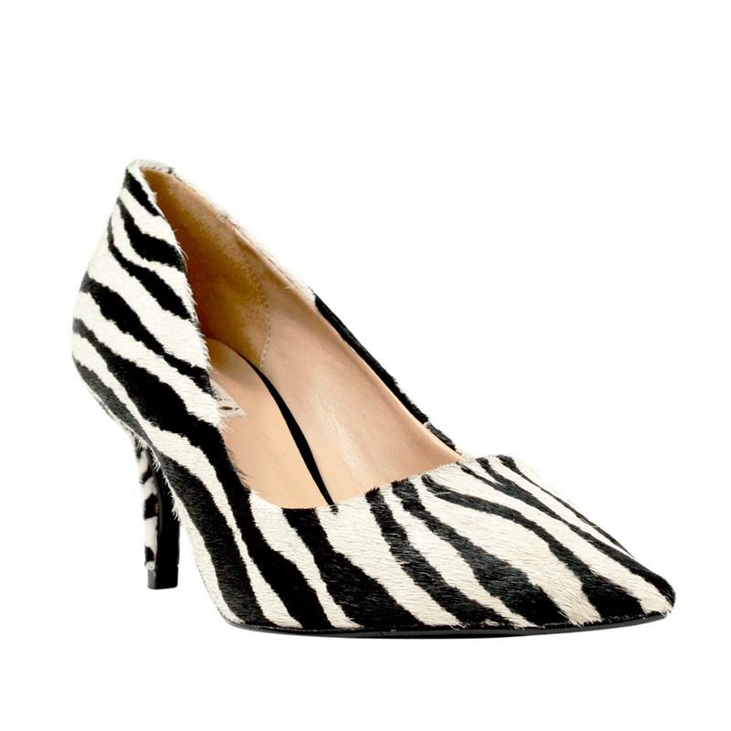 Scarpin Cecile Zebra 5001