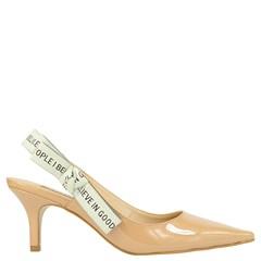 Scarpin Chanel Inspired em Verniz Nude 5094