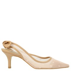Scarpin Chanel Inspired Nude 5095