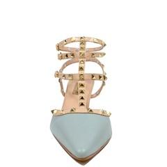 Scarpin Kefera Azul Couro L500