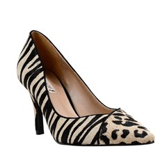 Scarpin Leonor Animal Print 7500