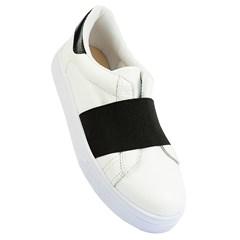 Slip On Givenchy Inspired em Couro Branco 40156