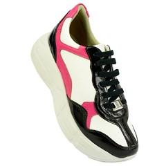 Tênis Balenciaga Inspired em Napa Branco e Rosa 4501