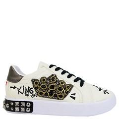 Tênis Dolce & Gabbana Inspired em Napa Off White 002