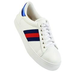 Tênis Gucci Inspired em Couro Branco 003