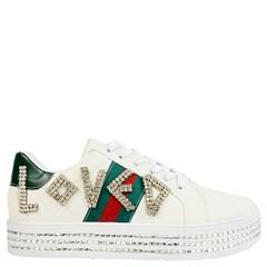 07484cbd6acfd Tênis Gucci Inspired Loved em Napa Off White ...