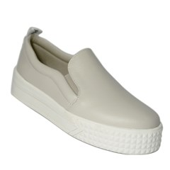 Tênis Slip on Flatform Laila Off White 4500