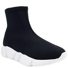Tênis Sock Balenciaga Inspired em Lycra Preta 866