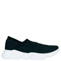 Tênis Sock Balenciaga Inspired em Malha Preta 11083