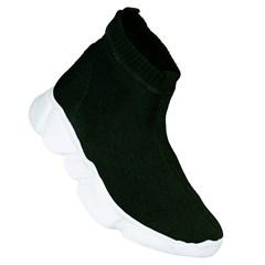 ... Tênis Sock Balenciaga Inspired em Malha Preta 11086 f84b1bf8265