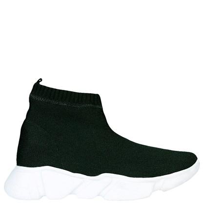 Tênis Sock Balenciaga Inspired em Malha Preta 11086