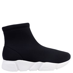 Tênis Sock em Lycra Preta 866